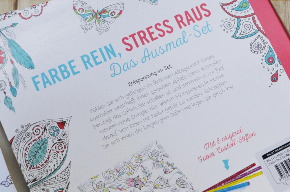 Gewinnspiel: Bunter Trend für mehr Entspannung - Malbücher für Erwachsene