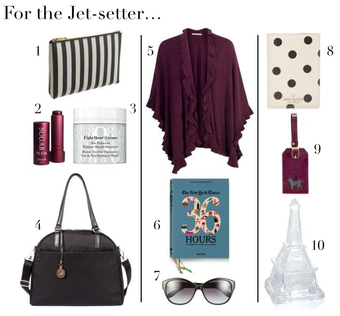 Jet-setter, travel, gift guide, kate spade, passport