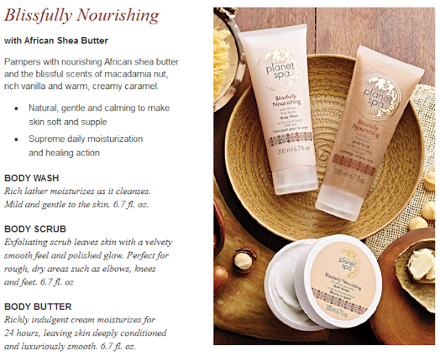 Avon Planet Spa Blissfully Nourishing