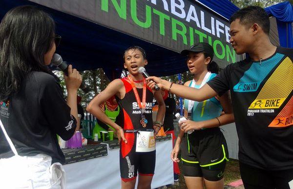 Tingginya Animo Pelajar, Panitia Pariaman Triathlon Buka Pendaftaran Hingga Malam Ini