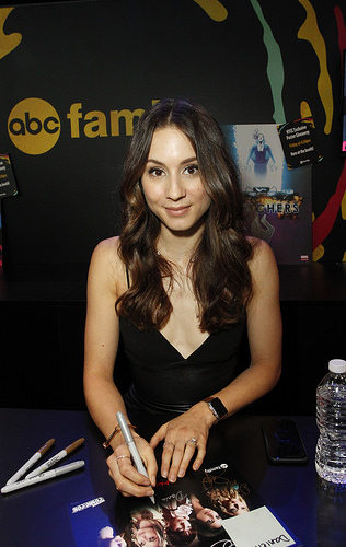 PLL actress Troian Bellisario (Spencer)