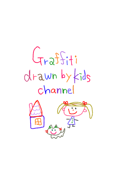 Graffiti drawn by kids channel