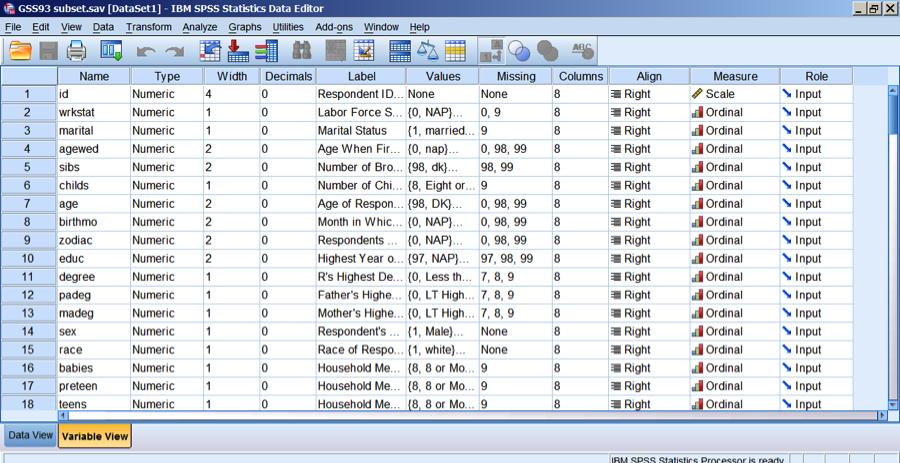 Hướng dẫn sử dụng phần mềm SPSS