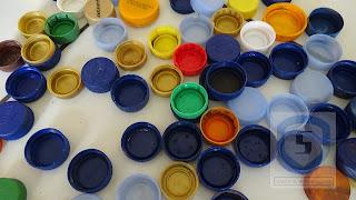 karya dari daur ulang tutup botol