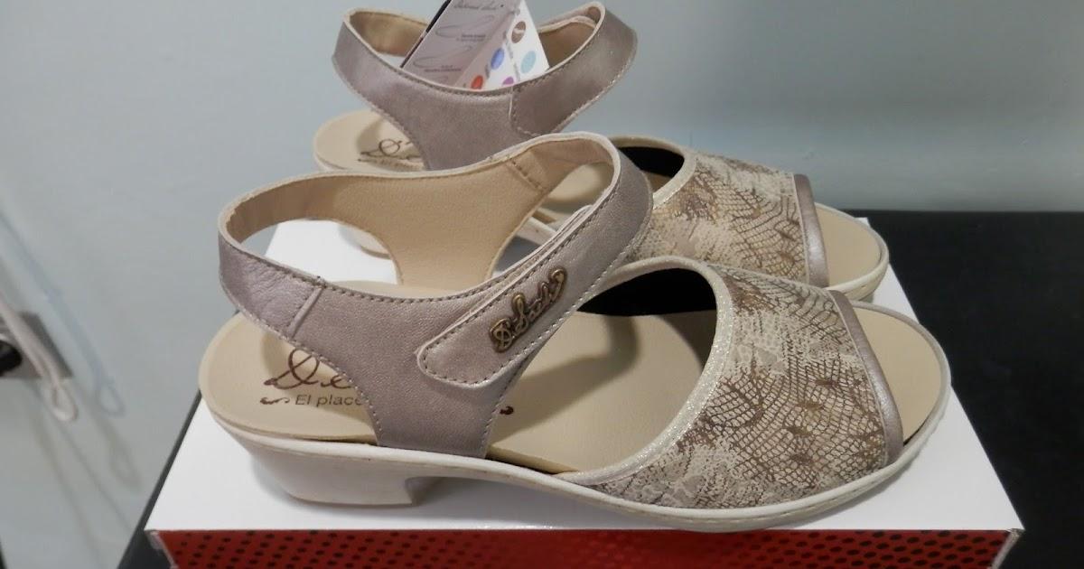 Sandalias de fantasia para plantillas con pala elastica for W de porter ortopedia