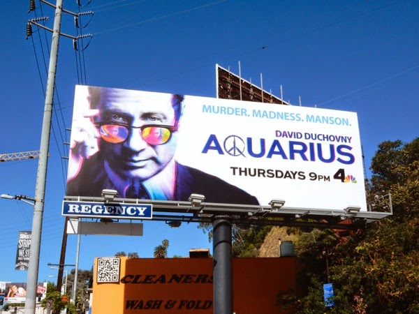 Aquarius series premiere billboard