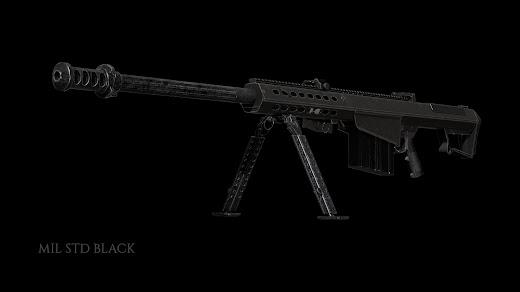 Arma3用に開発中のM107A1対物狙撃銃