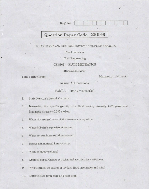 University Question Papers