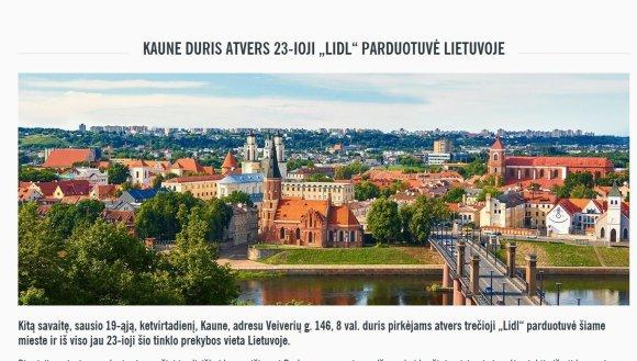 Lidl tinklas vykdo skirtingą rasinę politiką Lietuvoje ir Vyšegrado grupės valstybėse