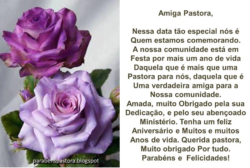 Mensagem De Aniversario Evangelica: Mensagem De Aniversário Para Pastora Evangélica 30
