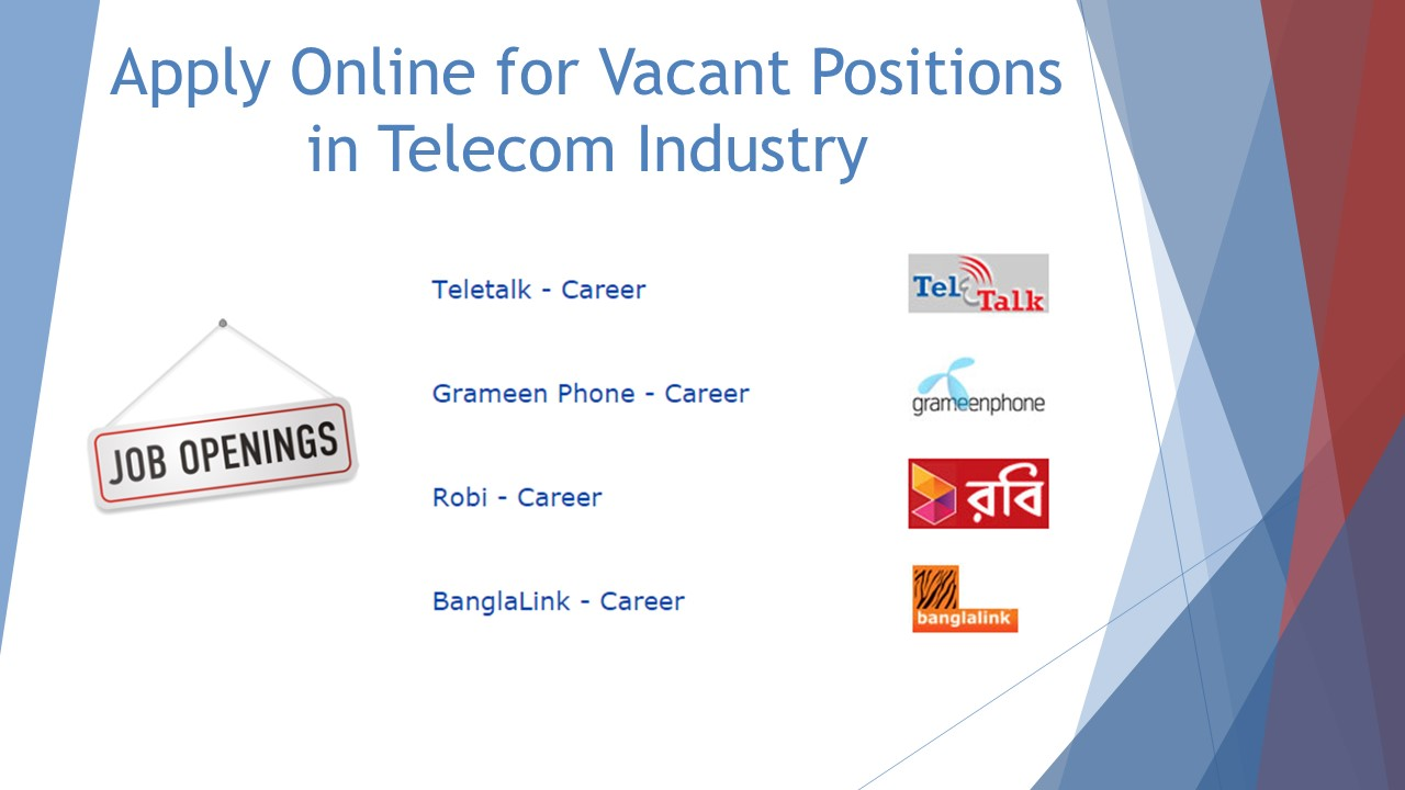 Telecom Job in Bangladesh