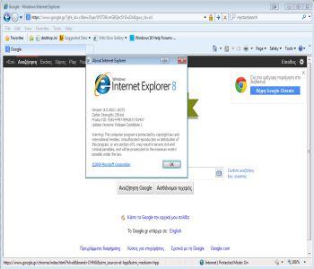 Internet Explorer Vista 9.0 Vista Screenshot 3