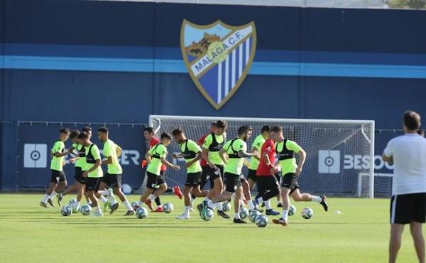 El Málaga arranca con un total de 24 jugadores