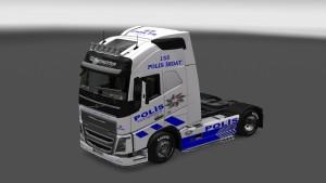 Turkish Police Skin for Volvo 2012