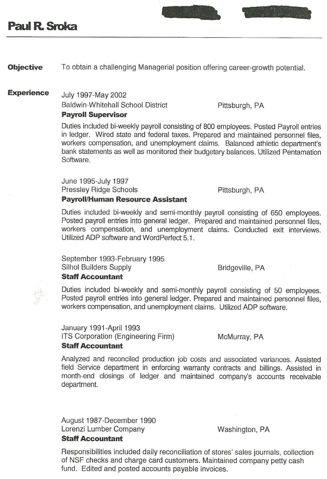 audit manager resume interest on resume for manager resume