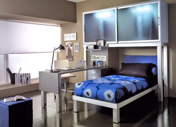 50 desain kamar tidur minimalis sederhana untuk remaja