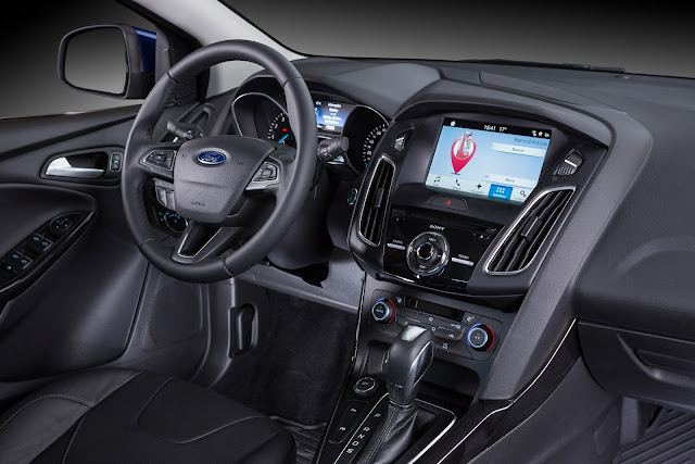 Novo Ford Focus 2017 - interior