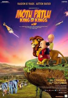 Motu Patlu King Of Kings (2016) DVDRip 720p 1.4GB Dual Audio [Hindi - Tamil] AAC 5.1 MKV