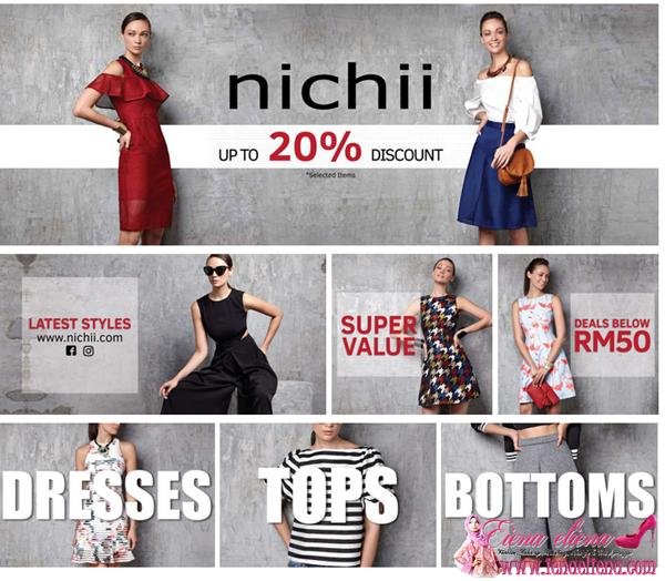 Nichii Tawarkan Diskaun Sehingga  20% di Lazada Sempena Lazada 5th Anniversary Sales