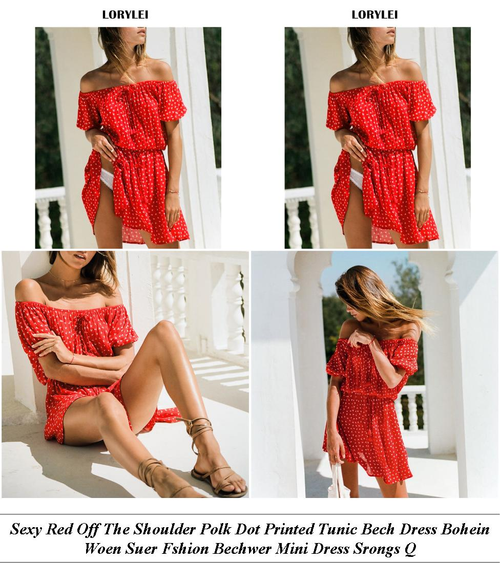 Dresses Athens - Womens Winter Wear Sale - Red Lace Off Shoulder Wedding Dress