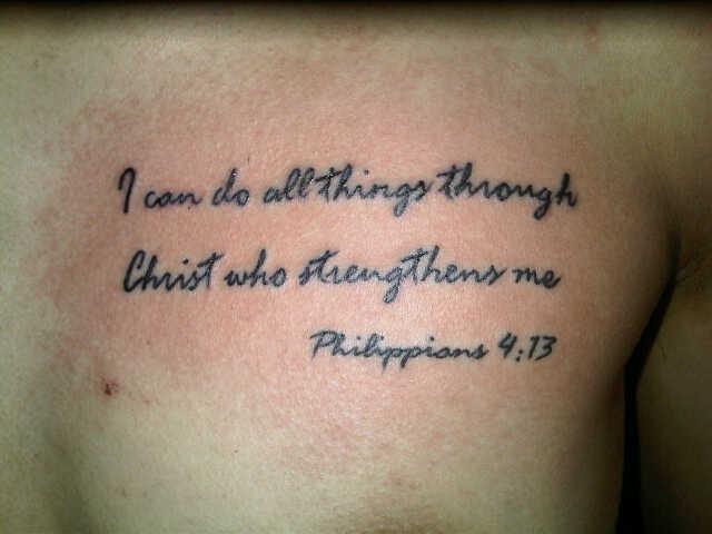 Tattoo Ayat Alkitab Tattoo