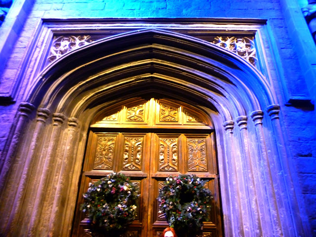 harry potter great hall door