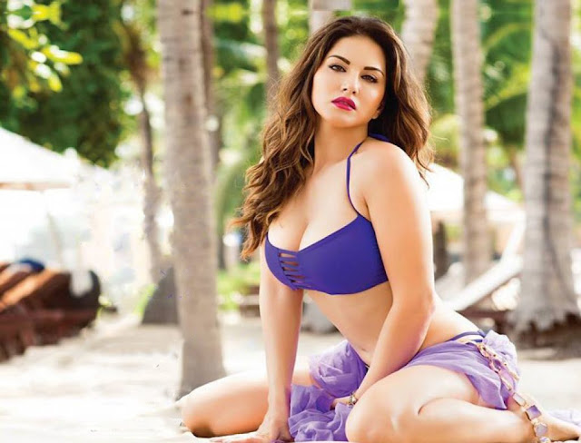 Beach Girl Sunny Leone Poses for Dabboo Ratnani Manforce Calendar shoot