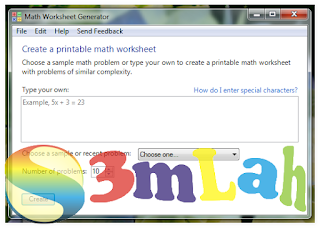 Download Aplikasi Math Worksheet Generator