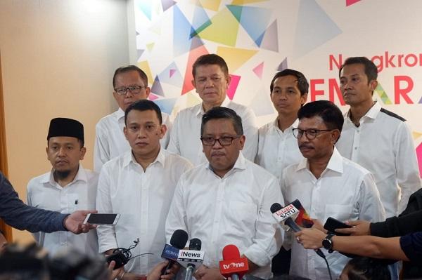 Posko Cemara, Media Center Jokowi-Ma'ruf