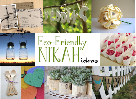 Make Your Nikah Eco-Friendly (A Green Islamic Wedding Guide)