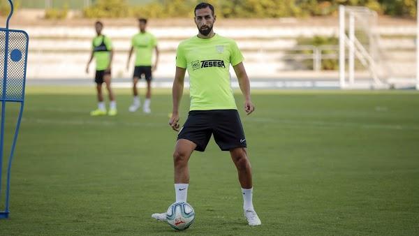"""Víctor Sánchez - Málaga -: """"Da mucha rabia ver entrenar a José Rodríguez"""""""