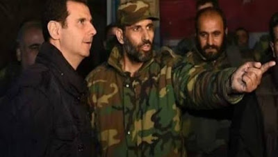 naeem ahmad pejabat militer rezim Suriah