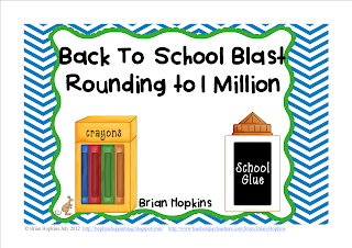 Back to School Rounding Blast to 1 Million