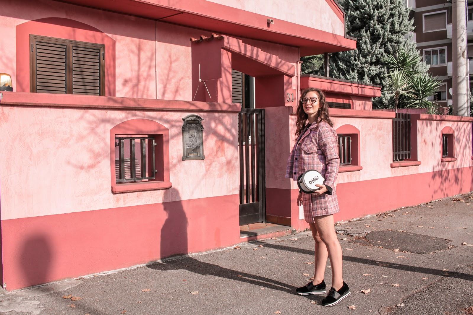 Fantasia TARTAN, un MUST di stagione: il mio completo in rosa!