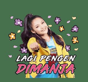 Sticker Keren Siti Badriah Lagi Pingin Syantik
