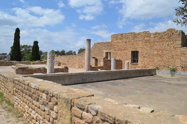 Vilas Romanas en Cartago