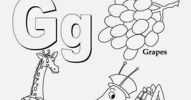 kids page alphabet letter g worksheet printable coloring worksheets. Black Bedroom Furniture Sets. Home Design Ideas