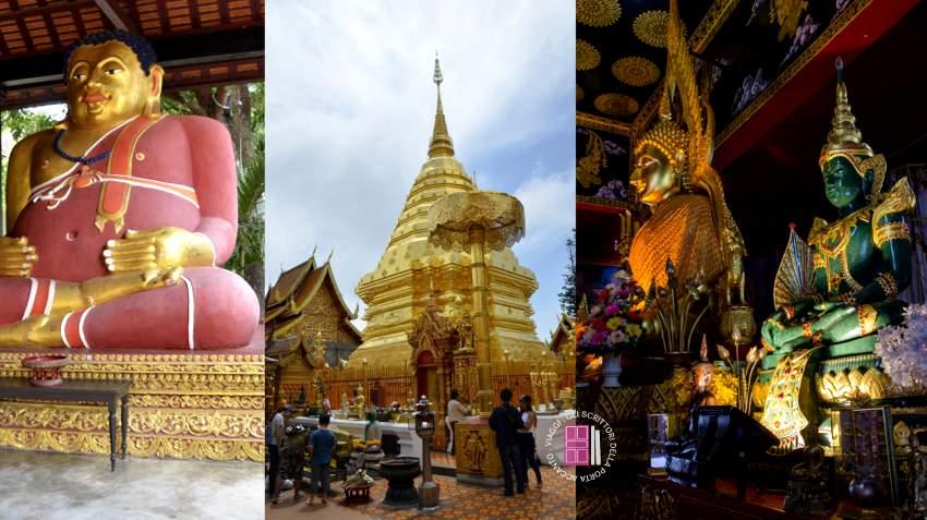 i templi di Chiang Mail