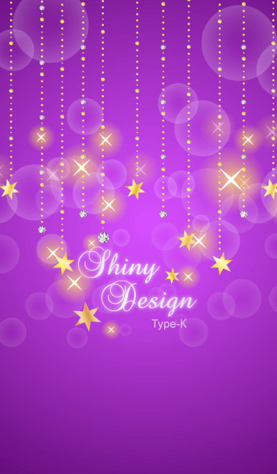 Shiny Design Type-K 紫&スター★