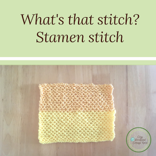Picture of what's that stitch stamen stitch