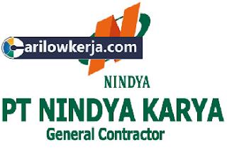 INFO Lowongan Kerja BUMN Terbaru Januari 2017 PT Nindya Karya