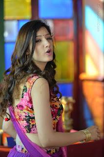 Actress Richa Panai Stills in Half Saree at Rakshaka Bhatudu Sets  0014.JPG