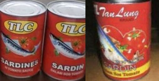 6 brand sardin tin mengandungi cacing