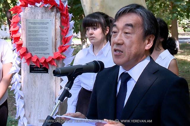 Ereván conmemora a víctimas de Hiroshima y Nagasaki