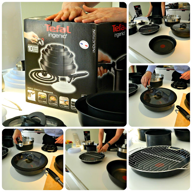Tefal Ingenio Cookware Product Demonstration