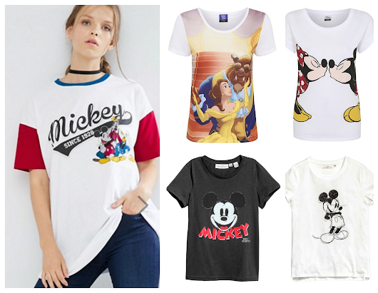 Affordable Disney T-shirts
