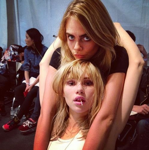 Cara Delevingne and Suki Waterhouse