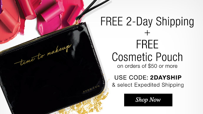 Free Time to Makeup Pouch & Free 2-Day Shipping Shop Now >>>