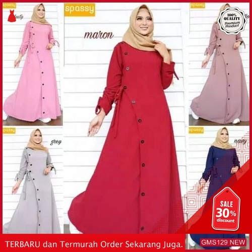 GMS129 FLFXN129D42 Dress Muslim Zaara Terbaru Dropship SK2021970327