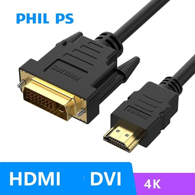 Cáp kết nối Philips DVI-D Và HDM